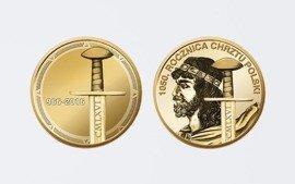 Numizmat na 1050 rocznicę Chrztu Polski