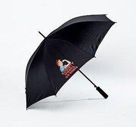 """Parasolka z hasłem """"Kobiety wiedzą co robią"""""""